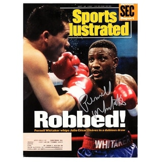 Pernell Whitaker Sports Illustrated Robbed September 20 1993 Original Magazine