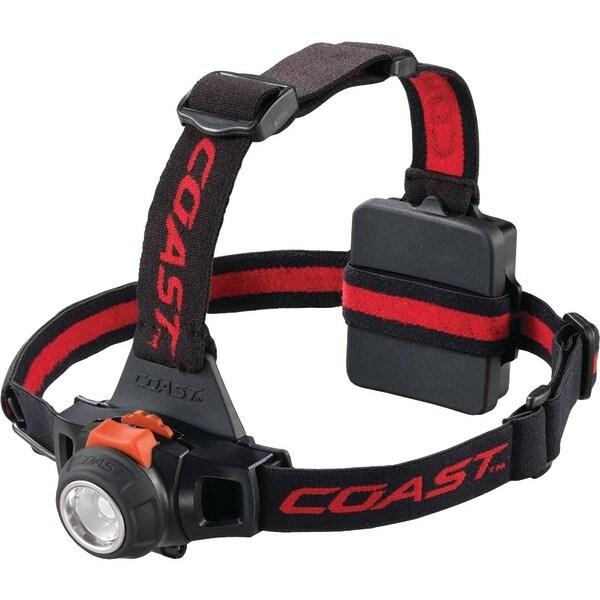 Coast 19271 330-Lumen Hl27 Pure Beam Focusing Headlamp