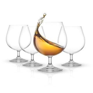 Link to JoyJolt Cask Brandy Glasses 13.5 oz Set of 4 Glasses Similar Items in Glasses & Barware
