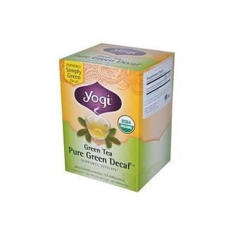 Yogi - Green Tea Pure Green Decaf ( 4 - 16 BAG)