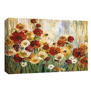 "PTM Images 9-148047  PTM Canvas Collection 8"" x 10"" - ""Garden View"" Giclee Flowers Art Print on Canvas"