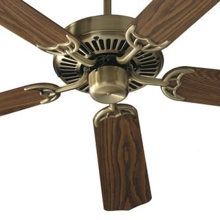 Quorum International Q77425 Indoor Ceiling Fan from the Capri 42 Collection