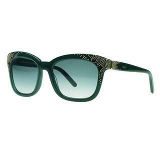 Chloe CE626/S 315 Green Cateye Sunglasses - 55-19-135