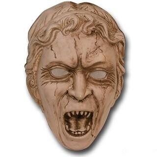 Weeping Angel Vacuform Costume Mask - Brown