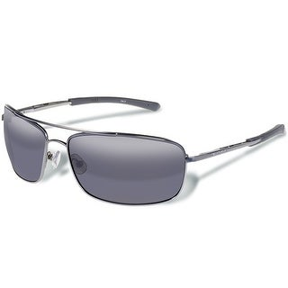 Gargoyles Aviator BARRICADE MATTE GUN/SMOKE Sunglasses