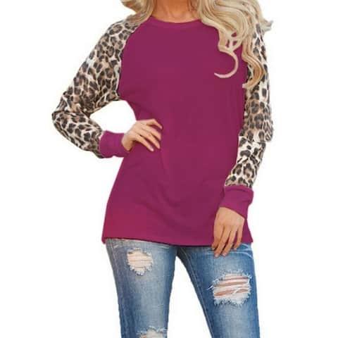 Leopard Loose Long-Sleeved
