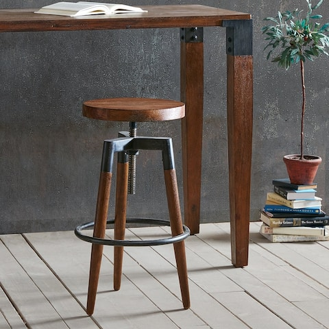 Frazier Adjustable Counter Stool/ Barstool by INK+IVY