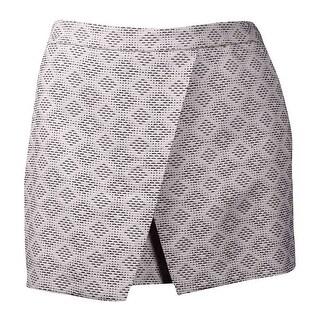 Vince Camuto Women's Woven Wrap-Front Shorts (14, Tiramisu) - tiramisu