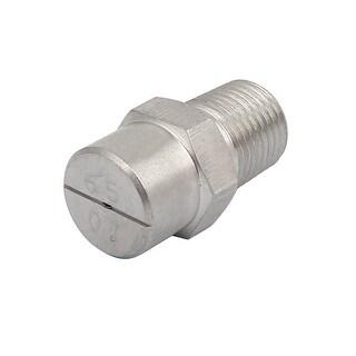 1/8BSP 0.66mm Orifice Spray Dia 65 Degree Stainless Steel Flat Fan Spray Tip