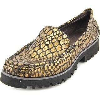 Donald J Pliner Rio 3 Moc Toe Leather Loafer