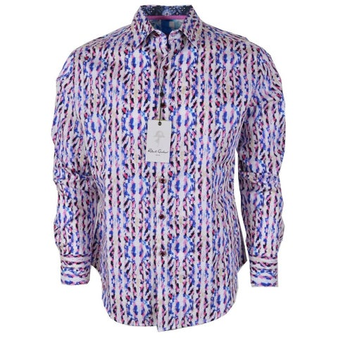 Robert Graham BENT CREEK Print Cotton Classic Fit Sports Shirt