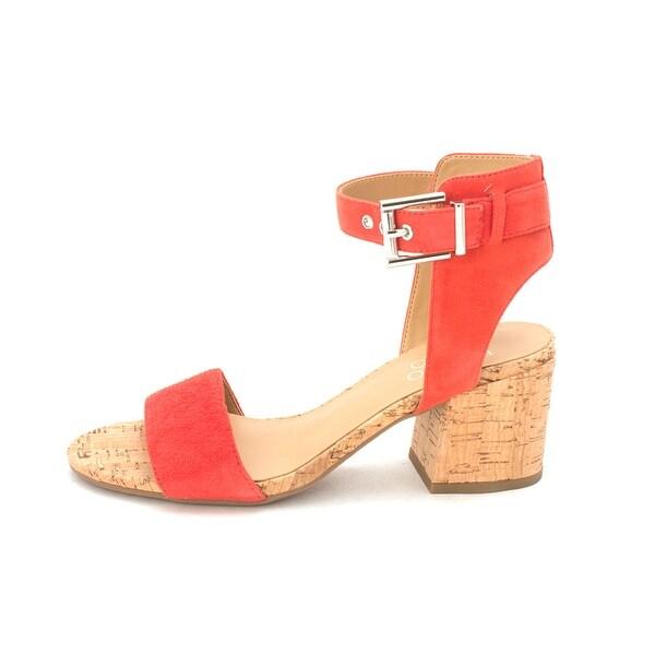 69d8cc3e2dd Shop Franco Sarto Womens Melody Leather Open Toe Casual Ankle Strap ...