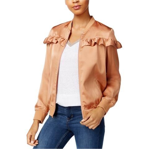 Maison Jules Womens Ruffled Jacket