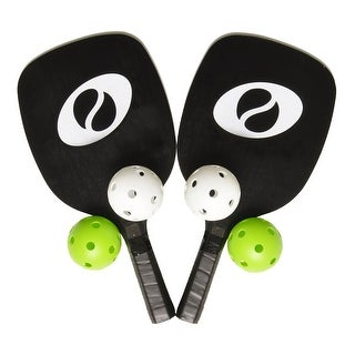 Optum Starter Pickleball Set 2 Paddles 4 Pickleballs