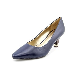 Circa Joan & David Daily Pointed Toe Leather Heels