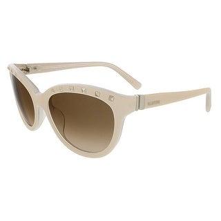 Valentino V622S 107 Ivory/Cream Cat Eye Valentino Sunglasses