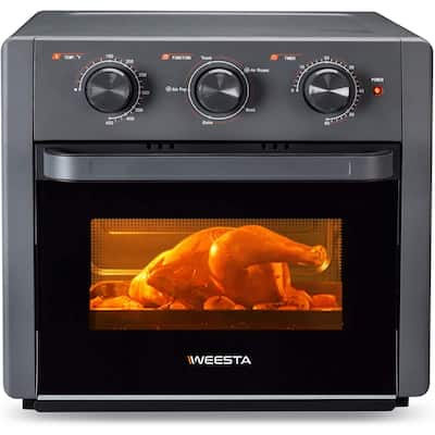 18L Air Fryer Toaster Oven for Cooking Chicken, Steak & Pizza
