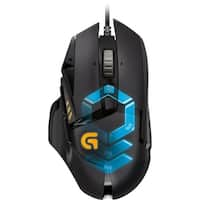Logitech - G502 Proteus Spectrum Wired Optical 11-Button Scrolling Gaming Mouse with RGB Lighting - Black