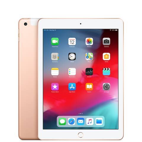 Apple iPad 6th 32gb WiFi & Cellular Gold Refurbished