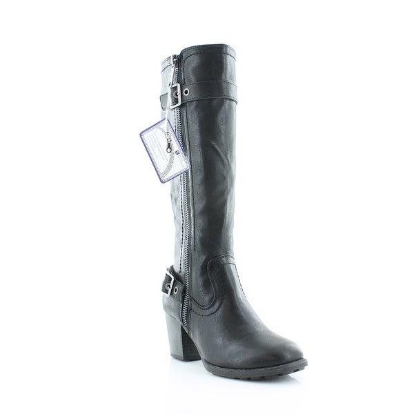 White Mountain Dover Women's Boots Blk - 6