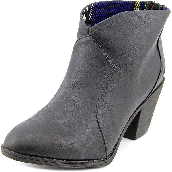 Blowfish Schloss Women Round Toe Synthetic Ankle Boot