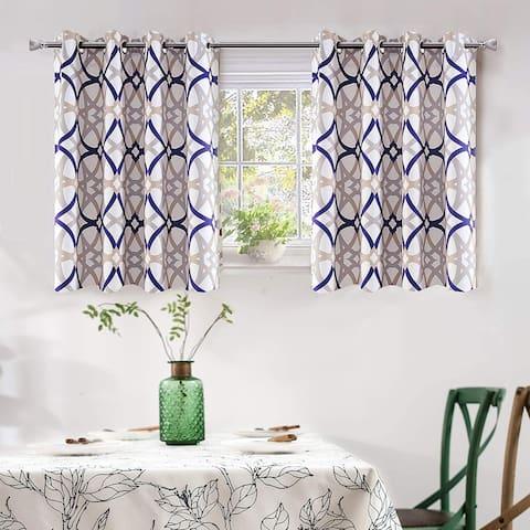 DriftAway Alexander Thermal Blackout Grommet Unlined Window Curtains