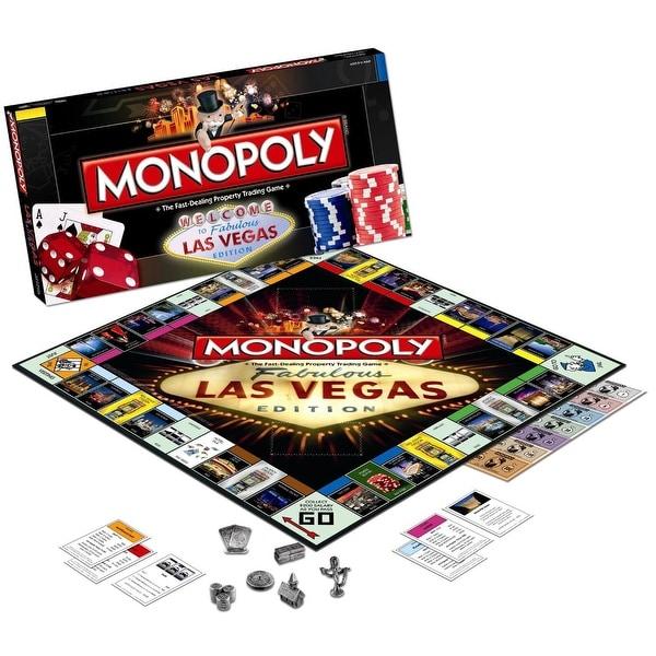 Monopoly Las Vegas Edition Board Game
