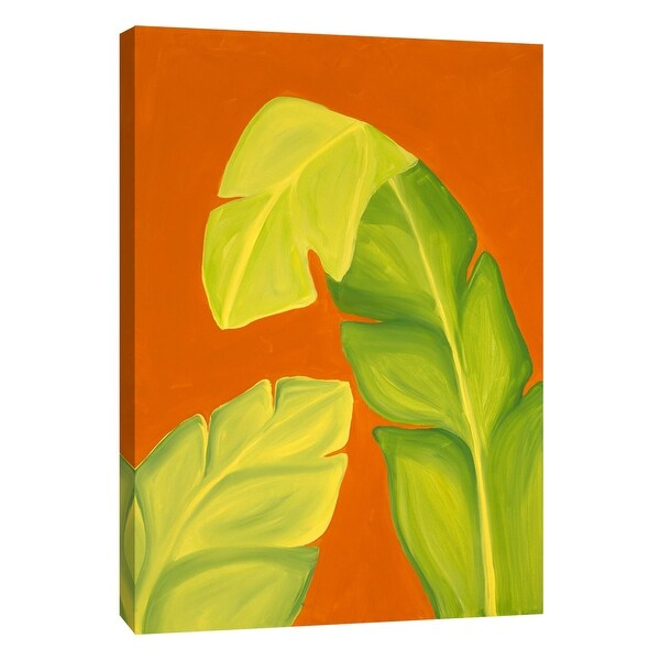 """PTM Images 9-105272 PTM Canvas Collection 10"""" x 8"""" - """"Life in the Tropics I"""" Giclee Palms Art Print on Canvas"""