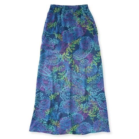 Aeropostale Womens Paisley Print Maxi Skirt