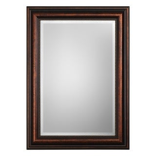 Link to Rubbed Bronze Rectangular Beveled Mirror Similar Items in Mirrors