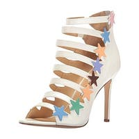 Katy Perry Womens The Stella Open-Toe Heels Strappy Pumps