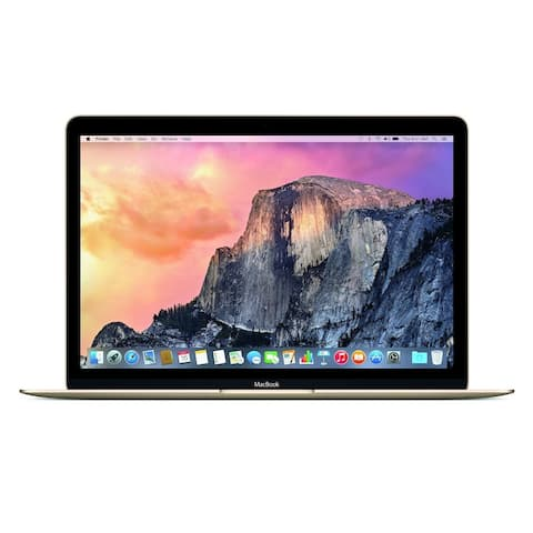 """Apple MacBook 12"""" (Early 2016) Intel Core M5-6Y54 X2 1.2GHz 8GB 512GB, Gold (Scratch and Dent)"""