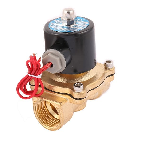 Shop Ac 220v 2w250 25 1 Female Thread 2 Way N C Copper Water Solenoid Valve On Sale Overstock 18430156