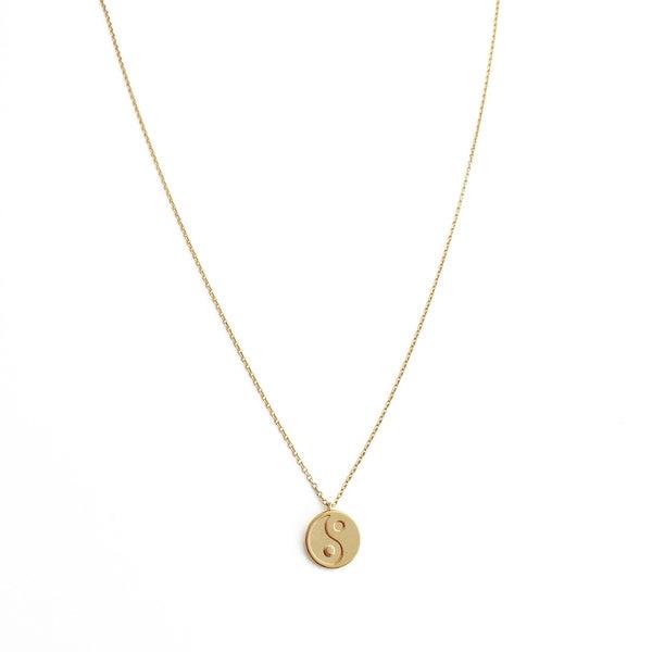 Honeycat Yin Yang Necklace