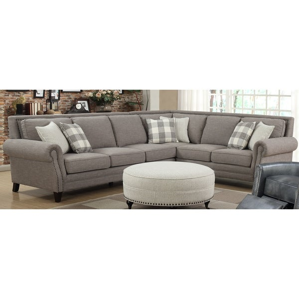 Copper Grove Vaiauku Pebble Brown Sectional. Opens flyout.