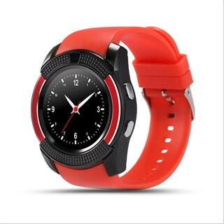 TechComm V8 Smart Watch Fitness Tracker with Camera