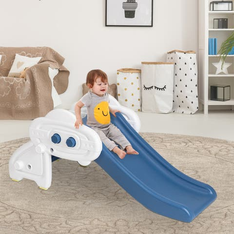 oddler Activity Playset Children Kids Indoor Climber Slide