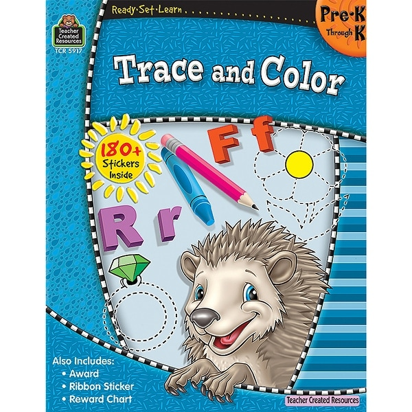 Ready Set Learn Trace And Color