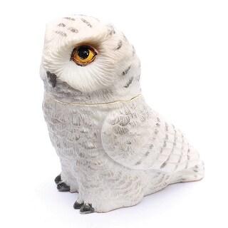 Children's Owl Pot Bellys Box - Snowy Owl