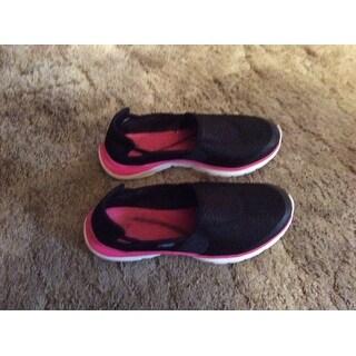 Easy Spirit Myles Women  Round Toe Canvas Black Walking Shoe