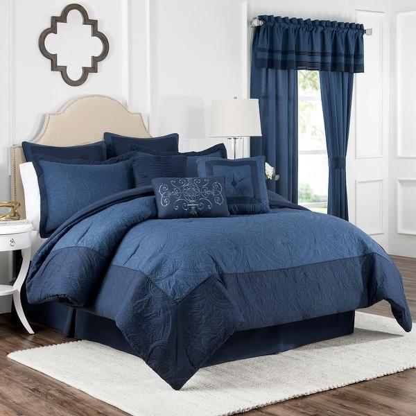 Vue Signature Bensonhurst 4 Piece Comforter Set. Opens flyout.