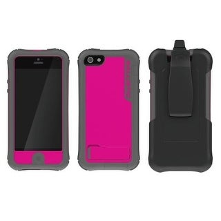 Ballistic - Every1 Case for Apple iPhone 5 Cell Phones - Raspberry/Gray
