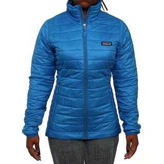 Patagonia Women Women's Nano Puff Jacket Puffer Andes Blue