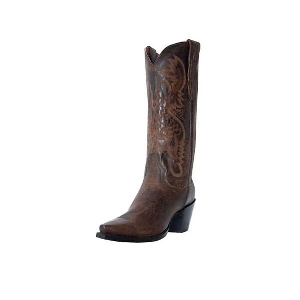Dan Post Western Boots Womens Fashion Maria Bay Dirty Bull Kid