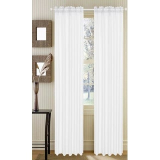 Asbury Voile Sheer Window Treatment Panel, 53x84 Inches