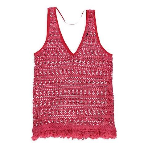 Sanctuary Clothing Womens Carnival Crochet Tank Top