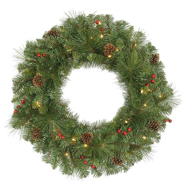 """30"""" Cambridge Wreath 50CL 168T"""
