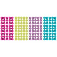 York Wallcoverings RMK2712SCS Multi Glitter Confetti Dots Peel and Stick Wall Decals