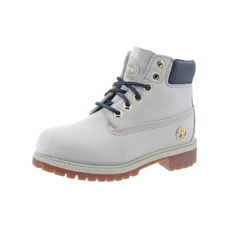Timberland Boys 6in Premium Casual Boots Durable Waterproof