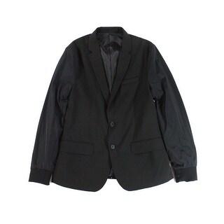 Kenneth Cole NEW Black Mens Size Medium M Two Button Sportcoat Blazer
